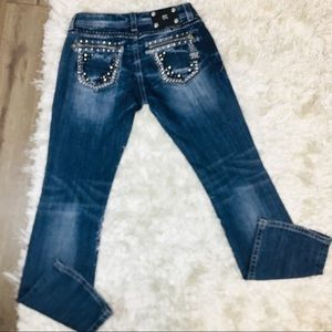 Miss Me Bootcut Jeans 29 Tall